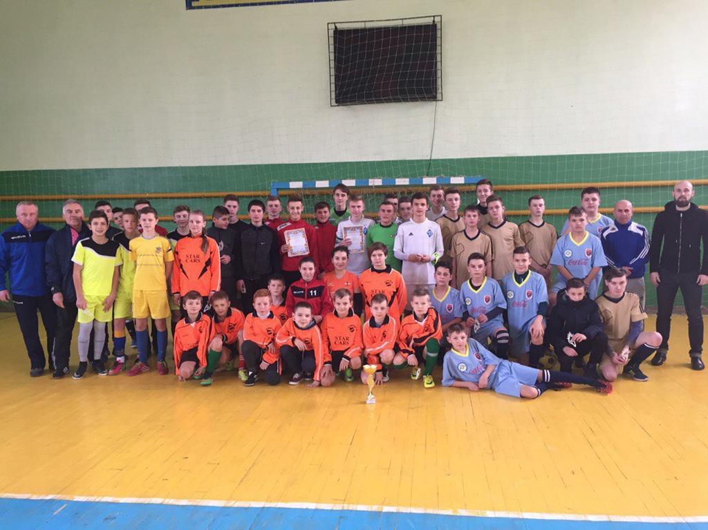 Новорічний турнір у Теребовлі
