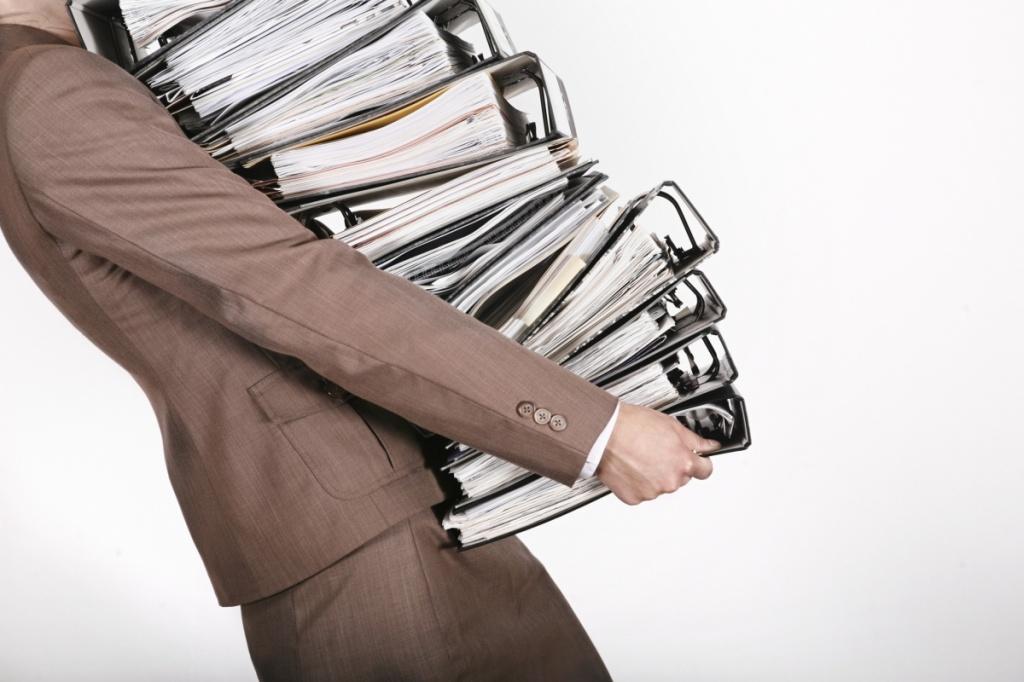 Чи варто зберігати первинні документи?