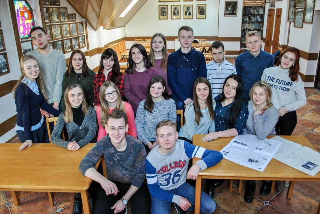 Студенти Галицького коледжу в гостях у «ВЖ плюс»