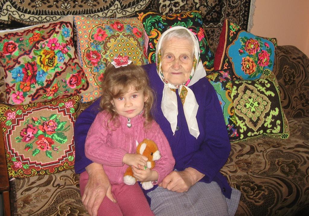 Золотоволосе диво бабусі Орисі