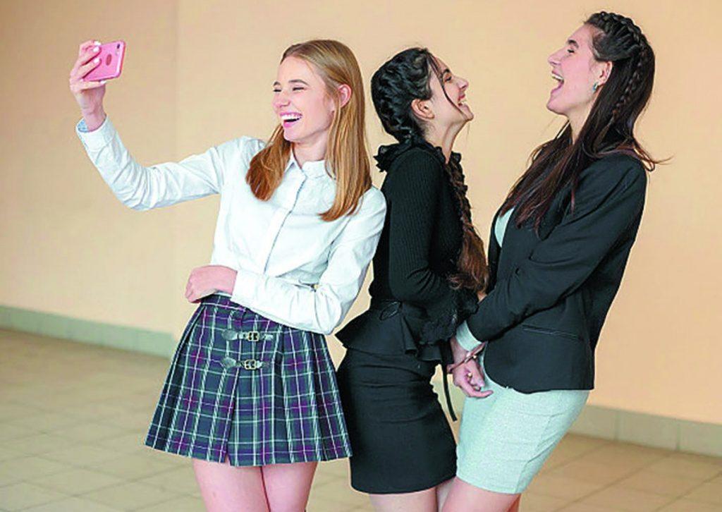 Секс в школі на українській