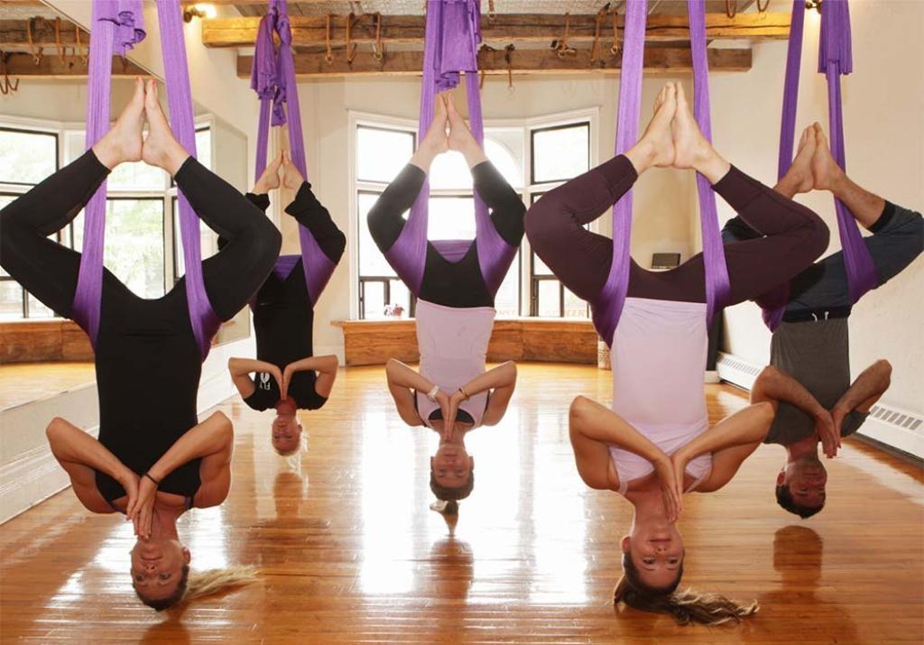 Флай-йога: тернопільський досвід