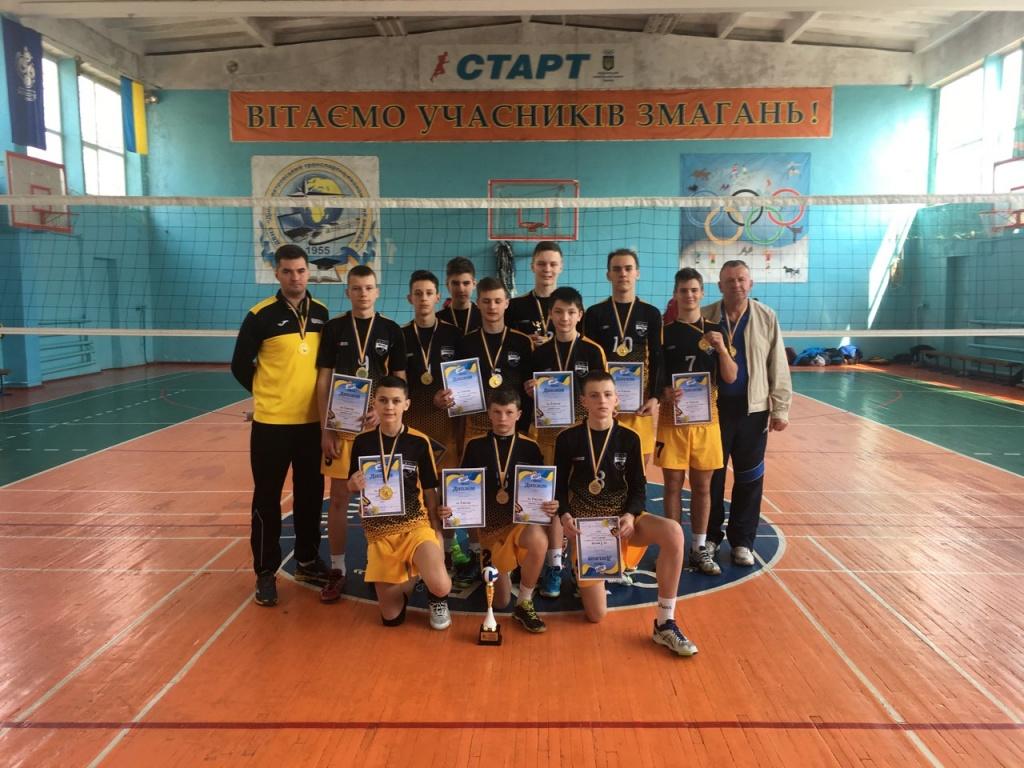 Тернопільські юнаки — чемпіони «Дитячої ліги»