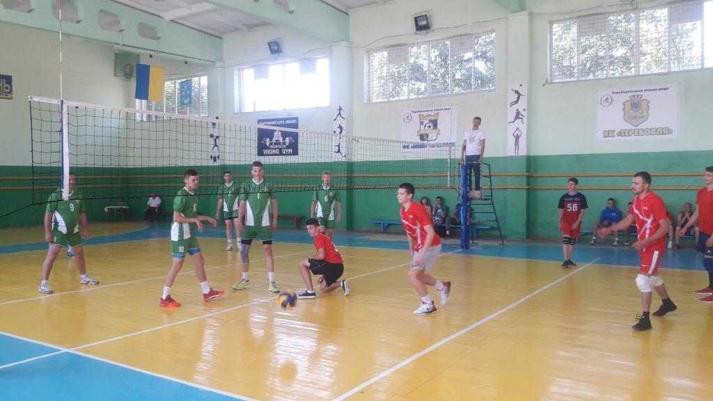 Визначилися фіналісти волейбольного турніру
