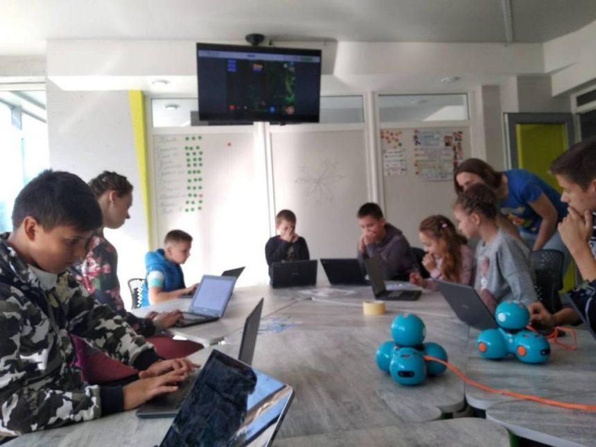 У Тернополі провели перші майстер-класи для дітей з візуального програмування
