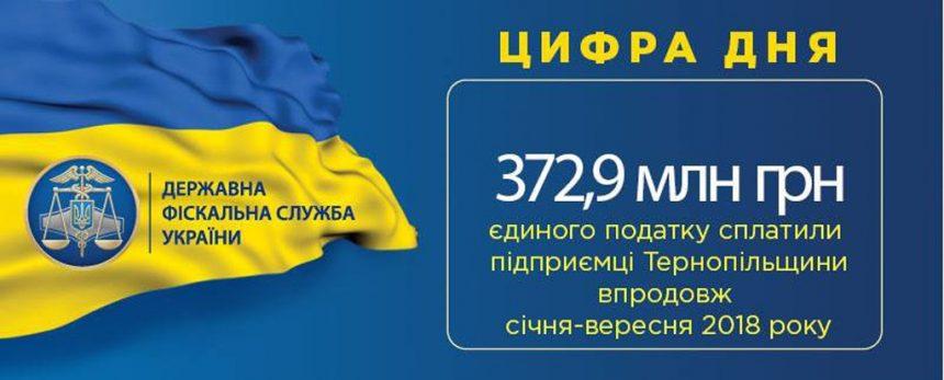 Бізнесмени Тернопільщини збільшили сплату єдиного податку на третину