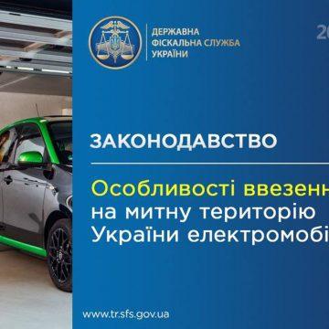 Ввозимо електромобілі на митну територію України