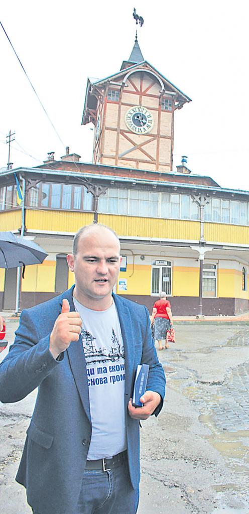 Міський голова Чорткова Володимир Шматько – переможець проекту «Нові лідери – 2»
