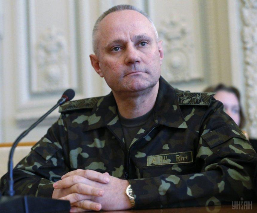 Хомчак зробив перші кадрові призначення в Генштабі
