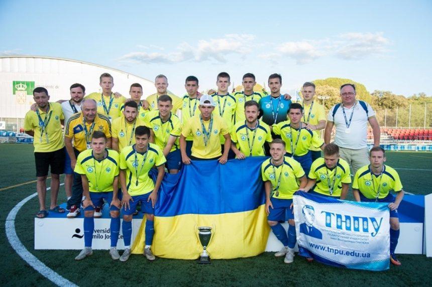 «Педуніверситет-ТНПУ» — віцечемпіон європейської клубної першості