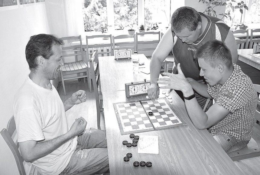 Шашковий турнір для людей з особливими потребами