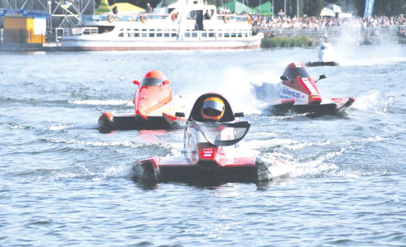 Тернопіль традиційно стане світовою столицею водно-моторного спорту