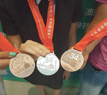 Школярка з Тернополя здобула «бронзу» на Міжнародному науковому конкурсі CASTIC