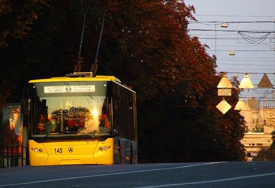 з 14 жовтня, тролейбус №1 курсуватиме за новим маршрутом.