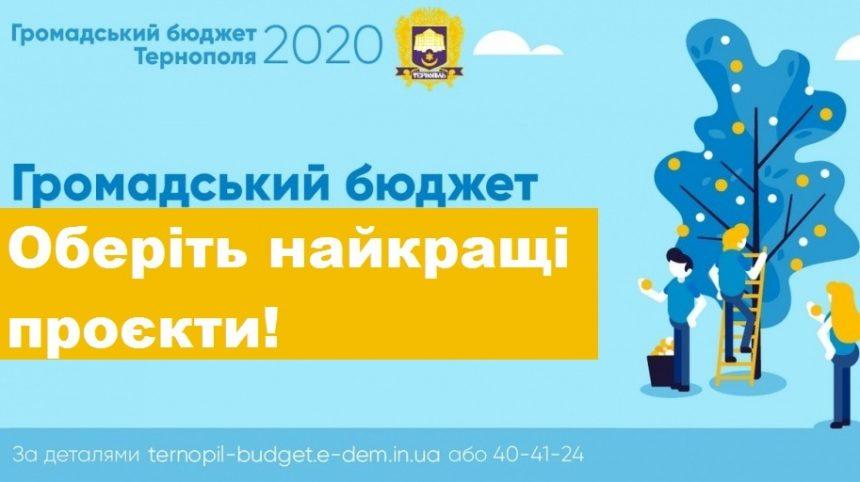 Стартувало голосування за проєкти «Громадського бюджету 2020»