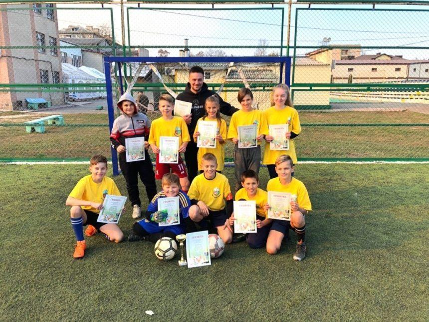 Друга підряд перемога футболістів школи-ліцею