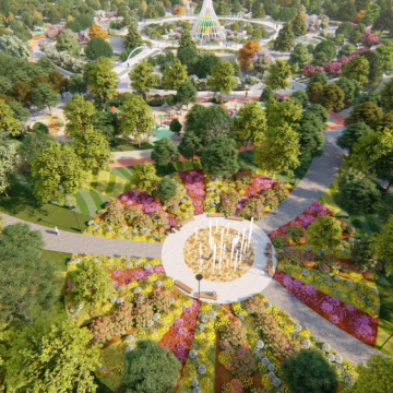 Виконком затвердив детальний план нового парку у Тернополі на вул. Київська – вул. Генерала Тарнавського
