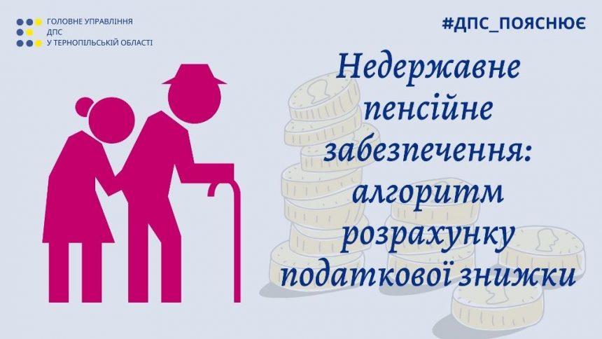 Недержавне пенсійне забезпечення: алгоритм розрахунку податкової знижки