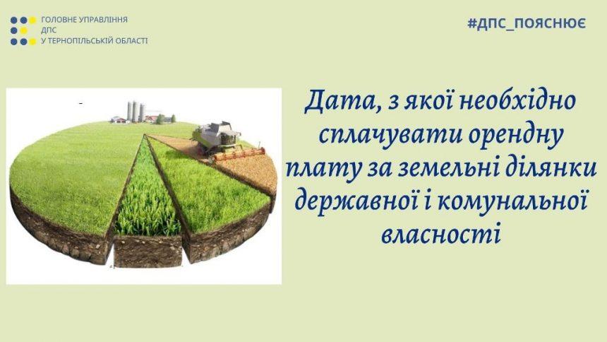 …Із дня державної реєстрації права оренди земельної ділянки