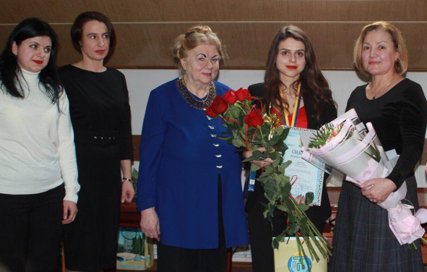 Лауреатка конкурсу «Людина року-2019» Зоряна МУРАШКА