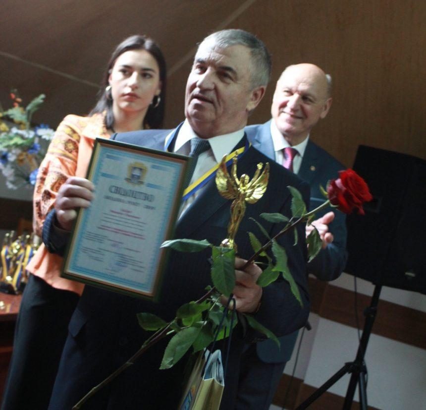 Лауреат конкурсу «Людина року-2019» Михайло ЛАЗАР