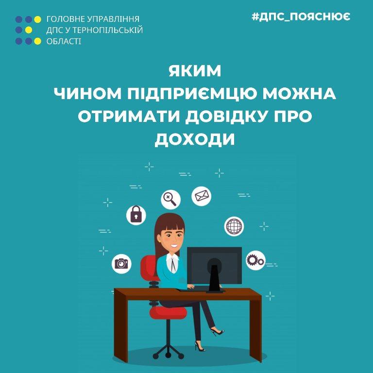 Довідка про доходи через електронний кабінет