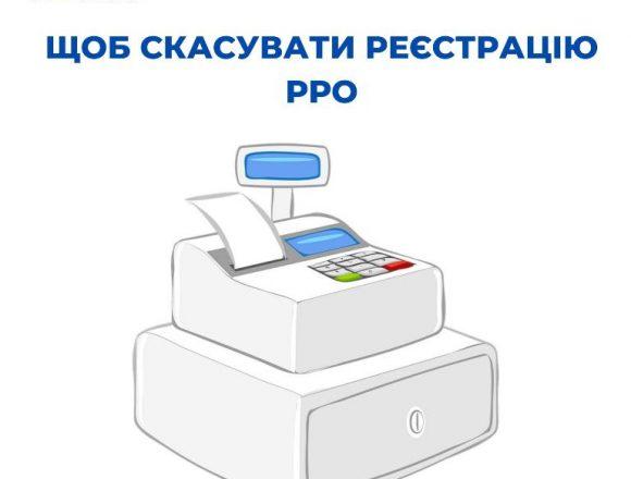 Скасування реєстрації РРО