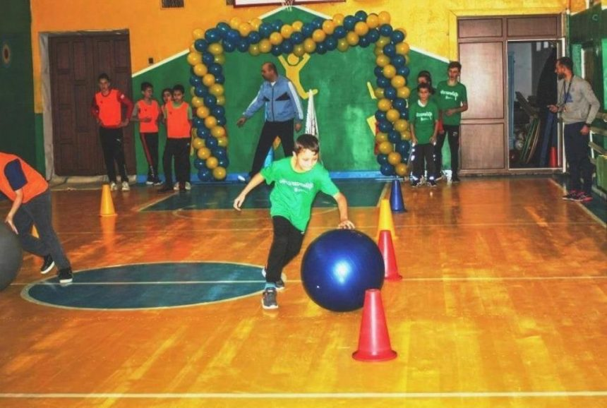 У селі відкрили спортзал