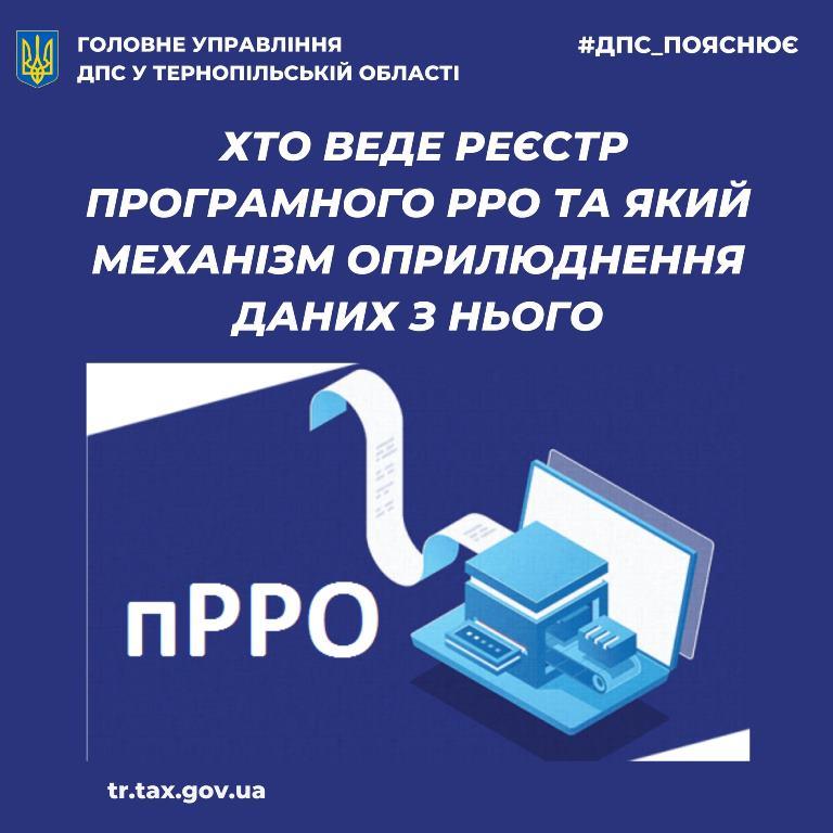 Механізм оприлюднення даних із реєстру ПРРО