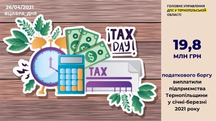 Розрахувалися з податковими боргами