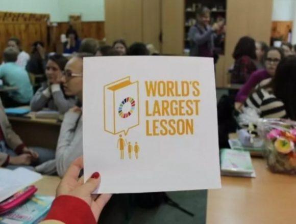 """З 17-го по 23-тє квітня по всій Україні відбудеться """"Найбільший урок у світі"""""""