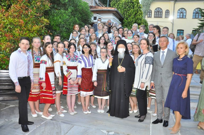 «Зоринка» співала для Вселенського Патріарха!