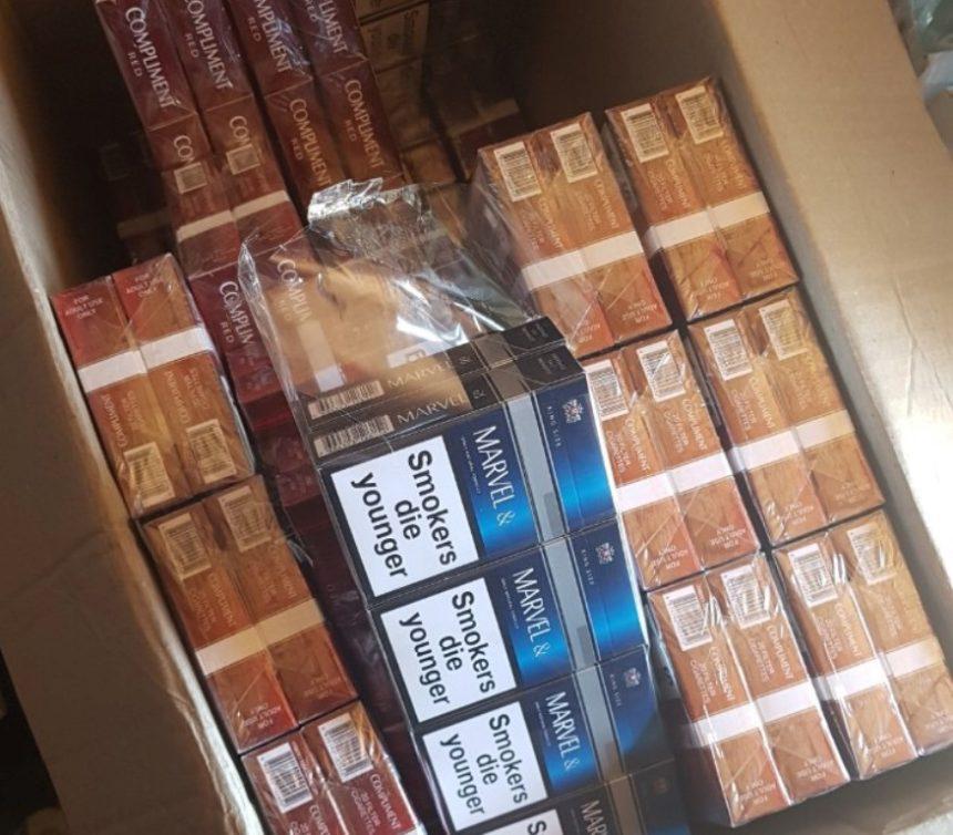 Податкові міліціонери конфіскували велику партію контрабандних сигарет