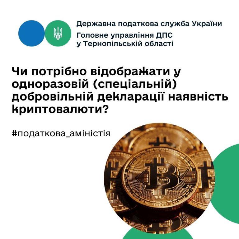 Криптовалюту варто відображати?