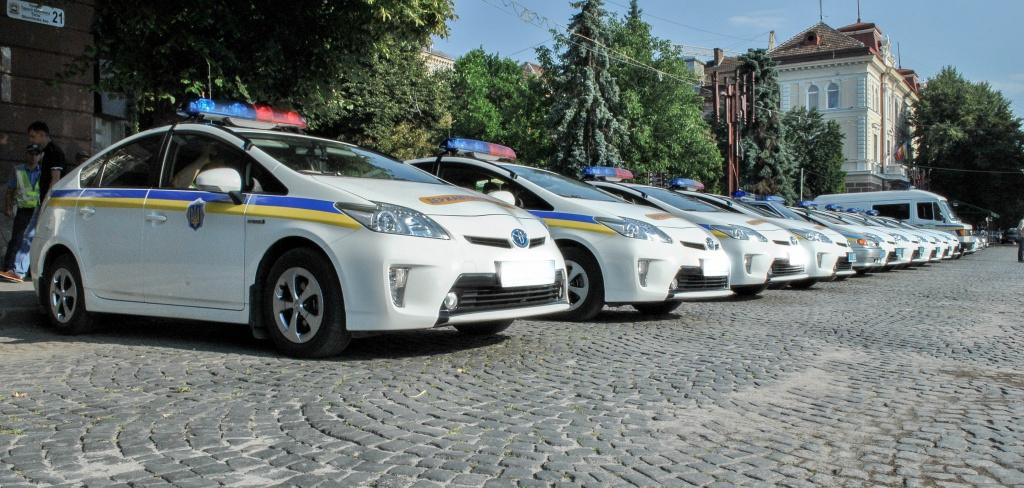 У Тернополі провели розвід міліціонерів