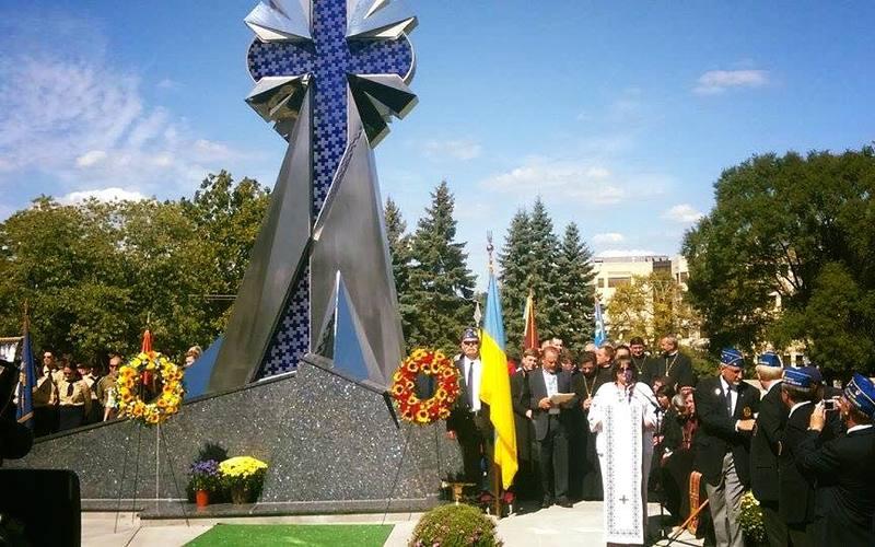 """У США встановили перший пам'ятник """"Небесній сотні"""""""