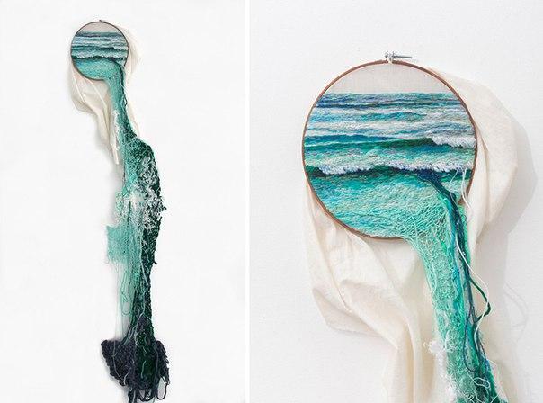3D вишивка від Ana Teresa Barboza