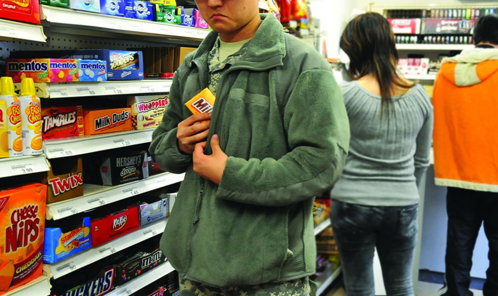 Затримали злодія, який обкрадав супермаркети