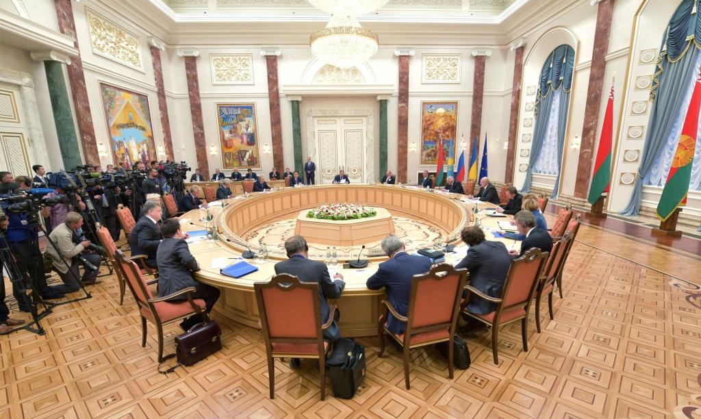 Сьогодні в Мінську відбудеться засідання Тристоронньої контактної групи