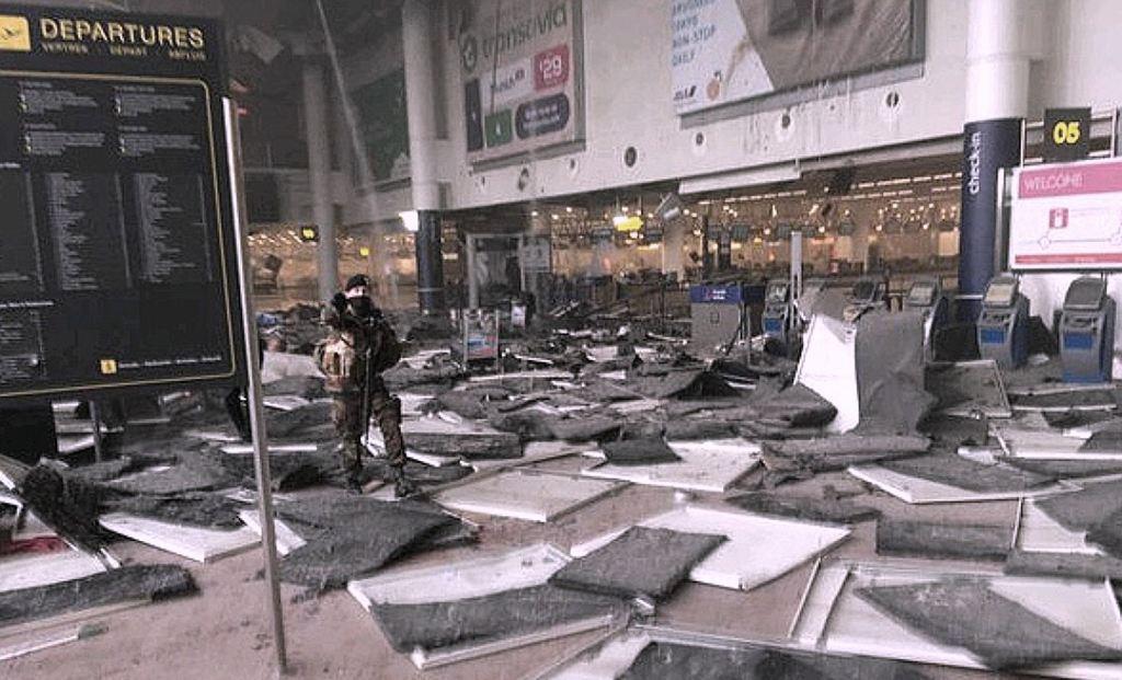 У терористів, які атакували аеропорт Брюсселя, було п'ять валіз