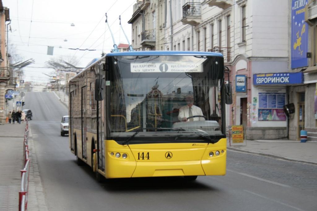 У 2016 році в Тернополі з'явиться 10 нових тролейбусів
