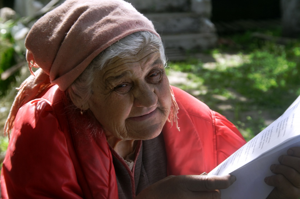 «У мене одна бабуся»