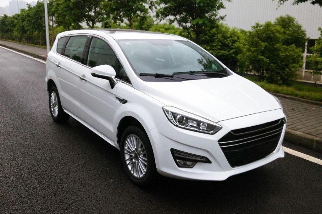 Китайський мінівен Lifan отримав зовнішність Ford S-Max