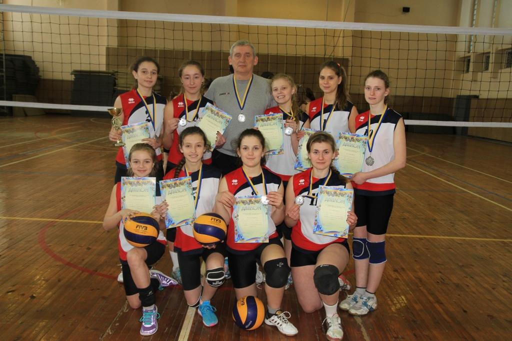 Волейболістки — віце-чемпіонки України!