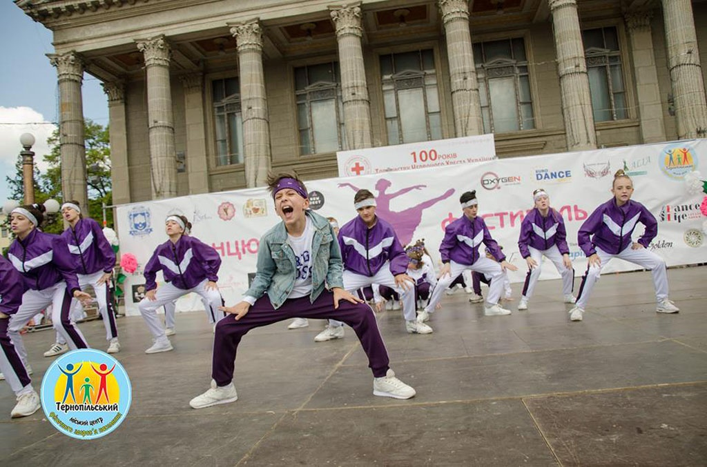 Танцювальний фестиваль у Тернополі