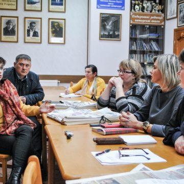 Редактори газет Тернопільщини зустрілися з керівництвом обласної дирекції «Укрпошти»