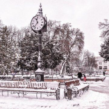 Тернопіль у снігу