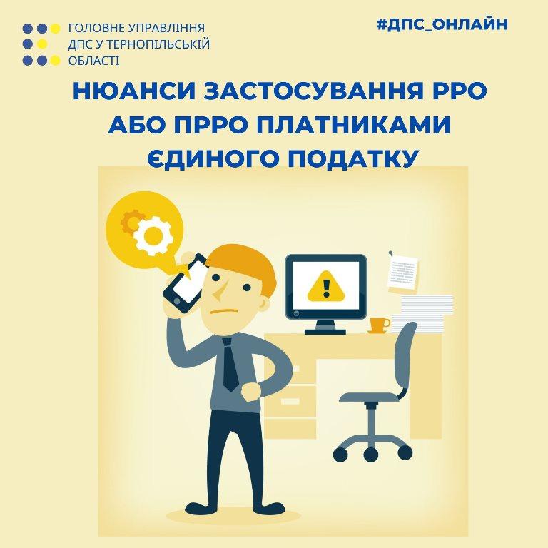 Нюанси застосування РРО або ПРРО платниками єдиного податку