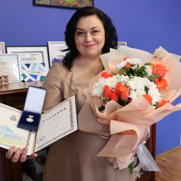 Нагородили грамотою Верховної Ради
