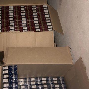 Податкові міліціонери вилучили дванадцять тисяч пачок сигарет